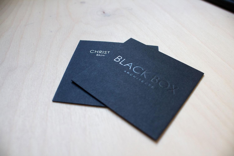Graphic design carlisle for Black Box architects